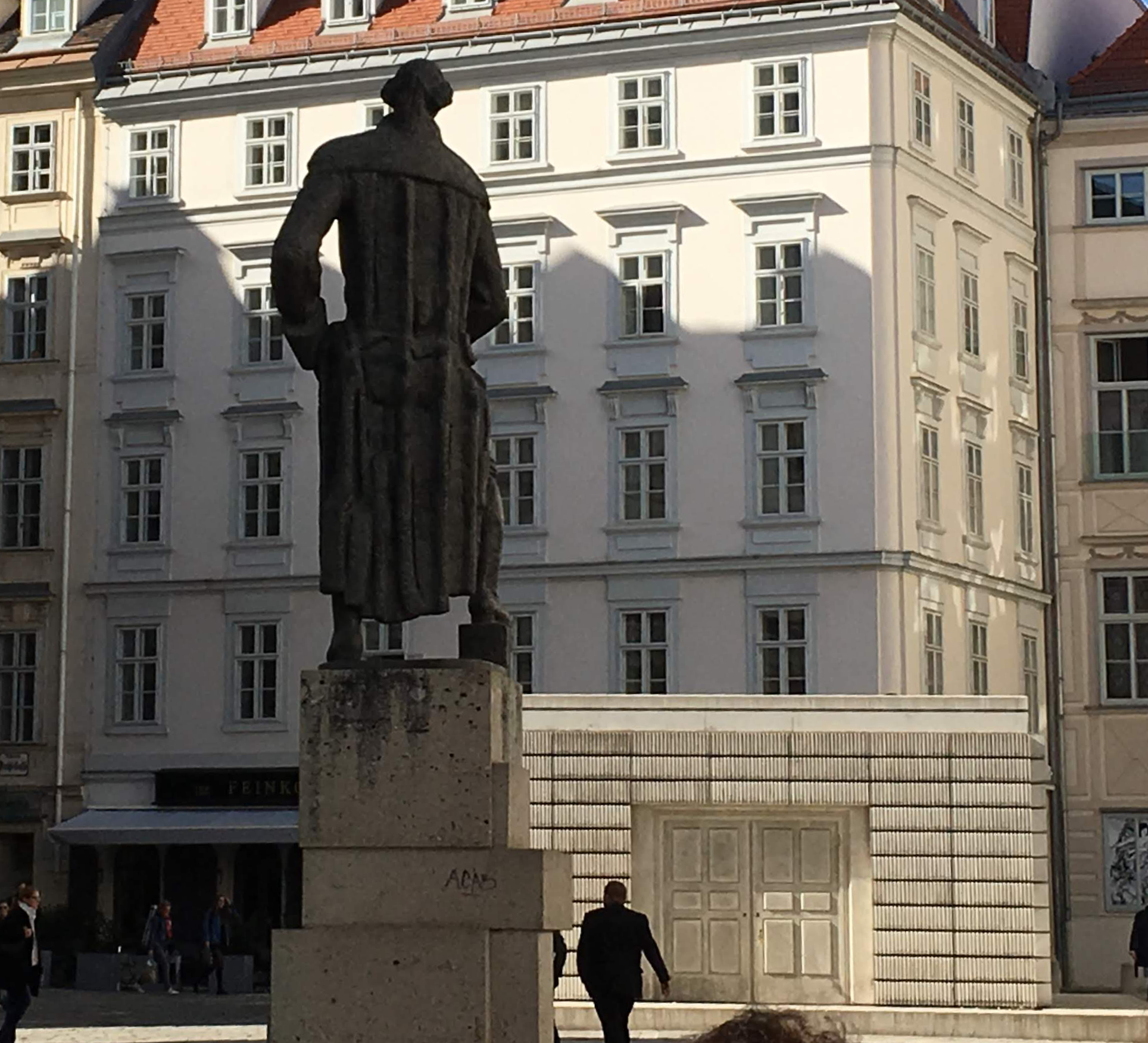 Judenplatz memorial